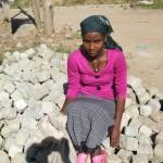 arme Ethiopische vrouw