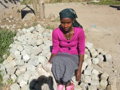 poor Ethiopian woman
