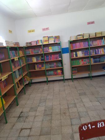 Nieuwe boeken in de basisschool van Mezezo